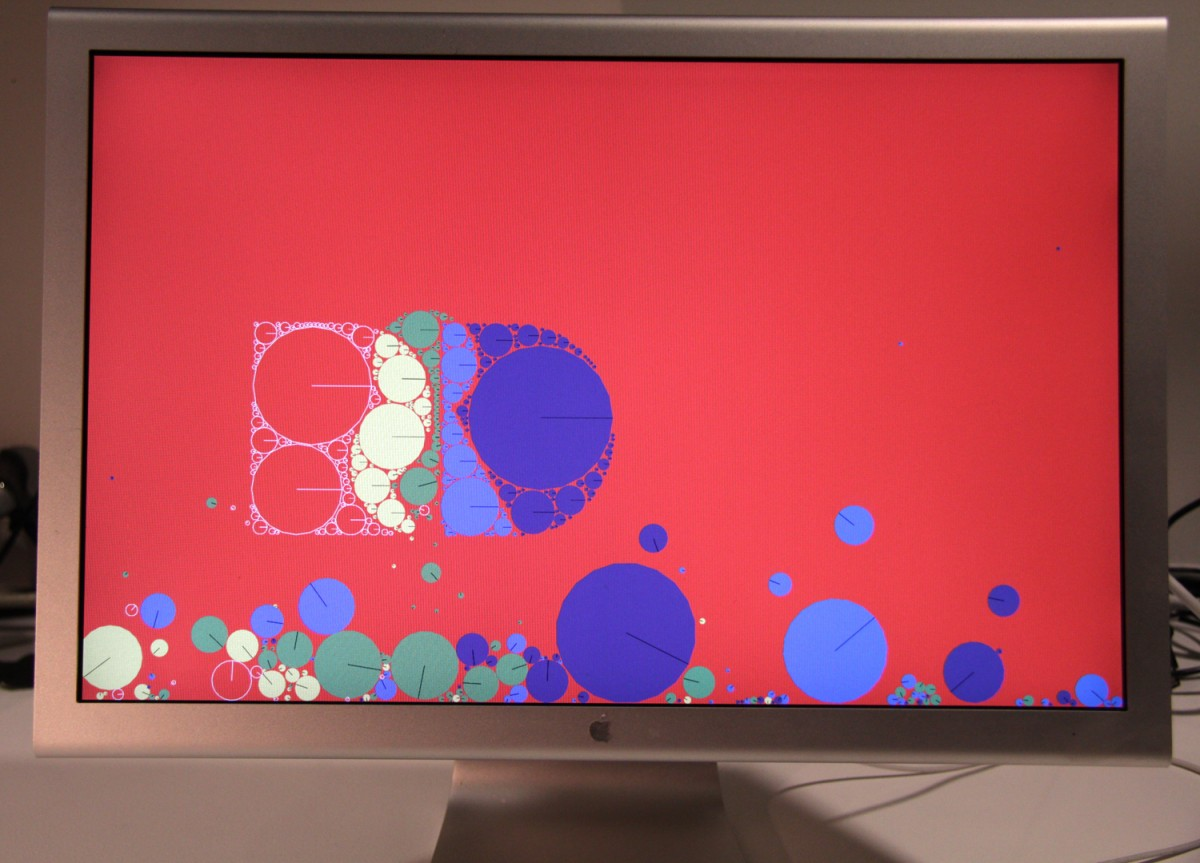R+D Red Screen Saver