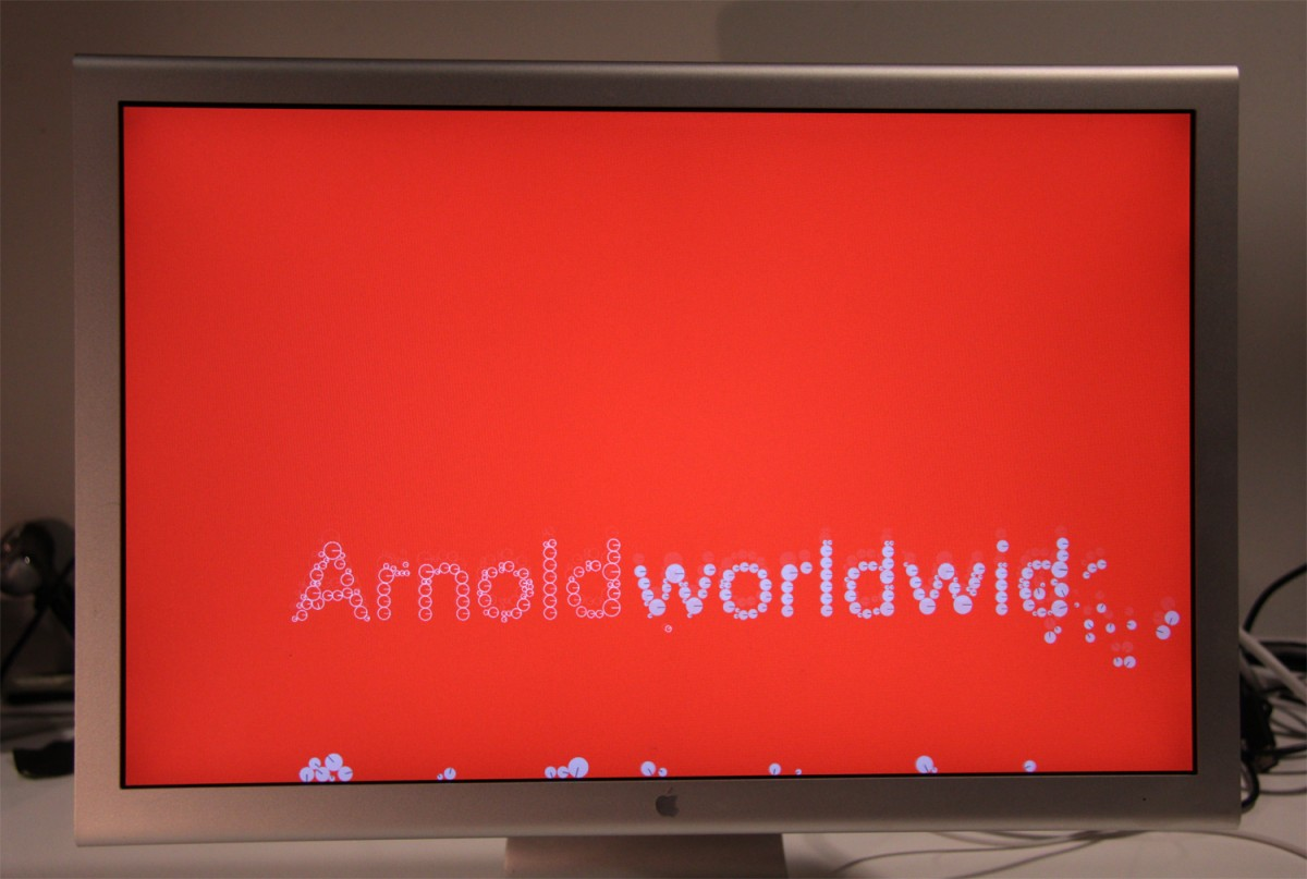 Arnold Worldwide Red