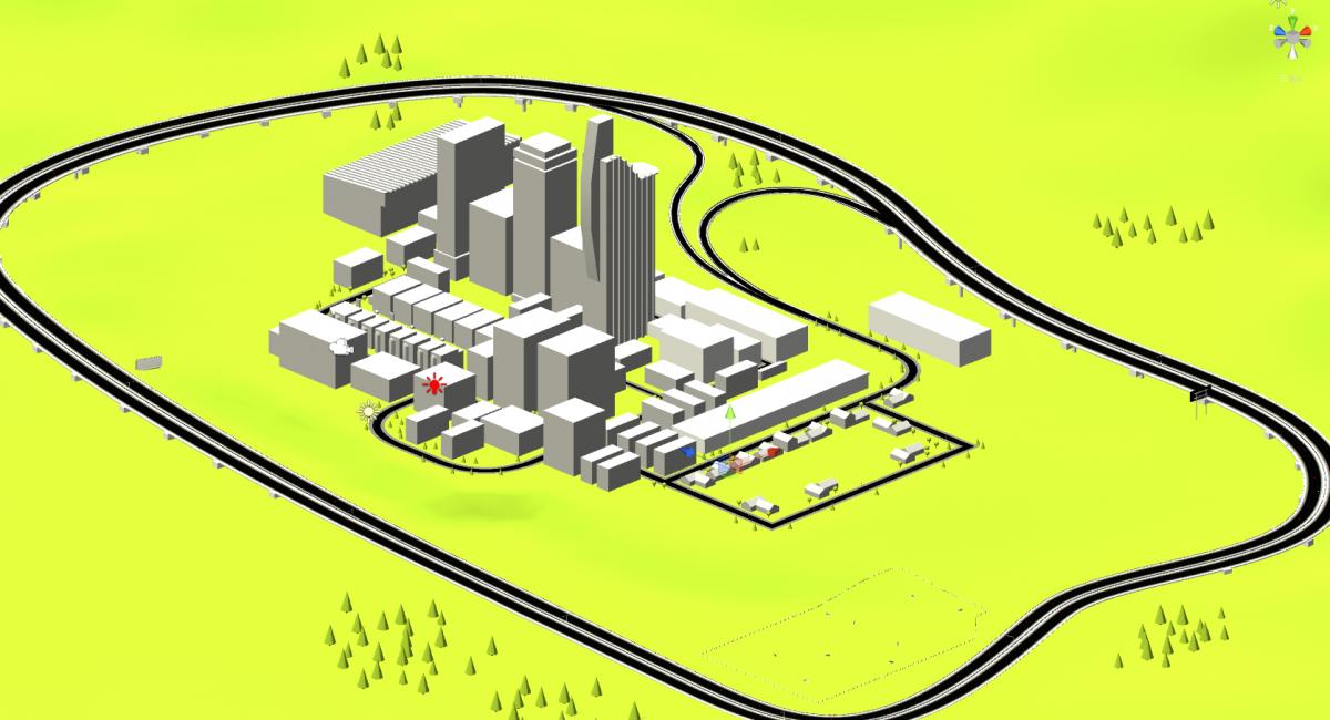 Unity Editor - Driving Simulator